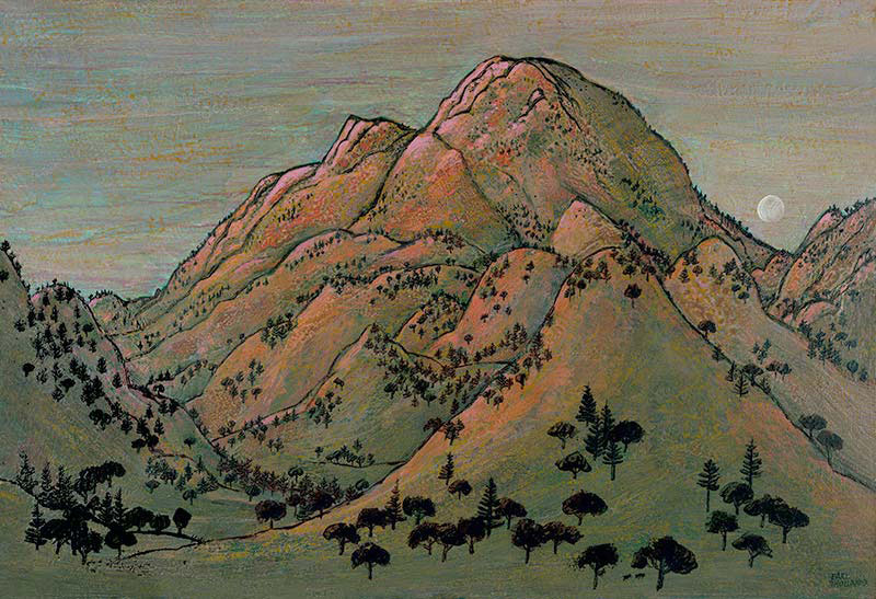 """Mt. St. Helena"" by Earl Thollander"